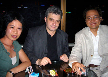 Wolfgang Kruecker, Joyce Lui, and Paul Ancheta