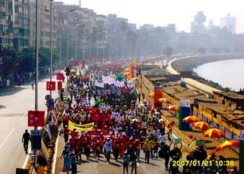 Mumbai Marathon 2007. Image source: Tata Interactive Systems