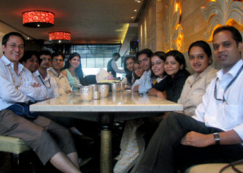 The VM team of northern India