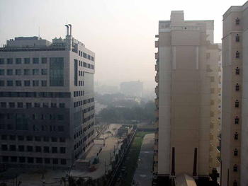 Smog in Delhi
