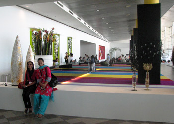 Main lobby of the exhibition