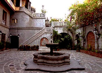 Courtyard at Casa Manila