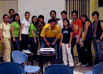Officers and some members of the Visual Merchandising Association of the Philippines